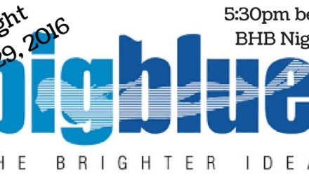 BigBlue Lights Demo Night: October 29th