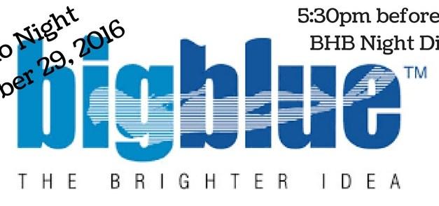 BigBlue Lights Demo Night: October 29th