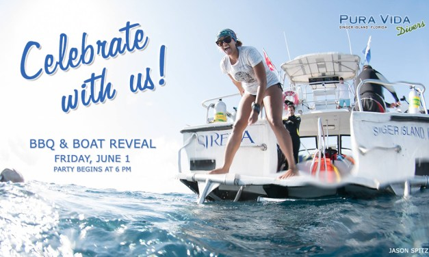 JUNE 1: BBQ & BOAT REVEAL