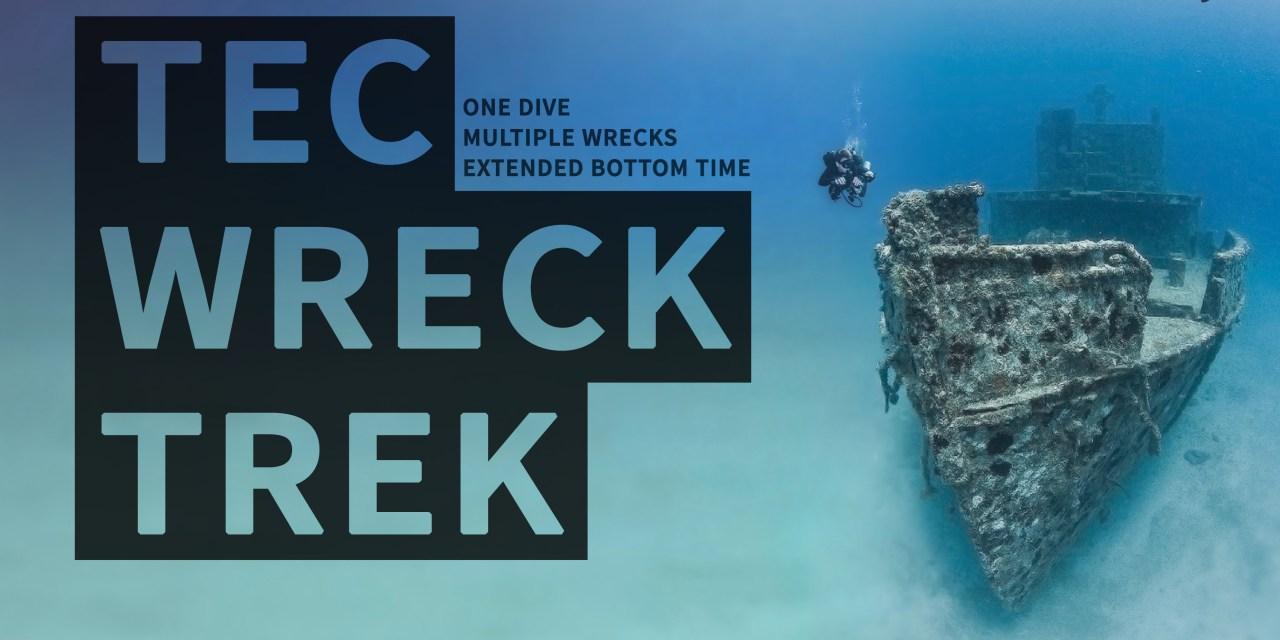 FEB 6: TEC WRECK TREK (EXTENDED BOTTOM TIME DIVE)