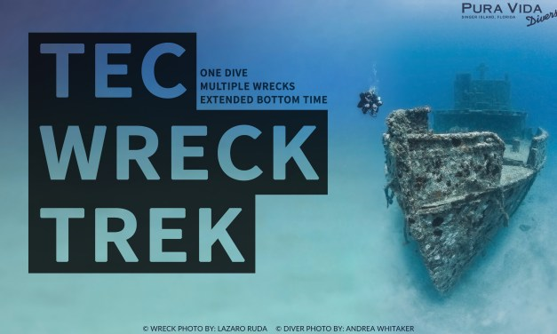 FEB 6: TEC WRECK TREK (EXTENDED BOTTOM TIME DIVE)