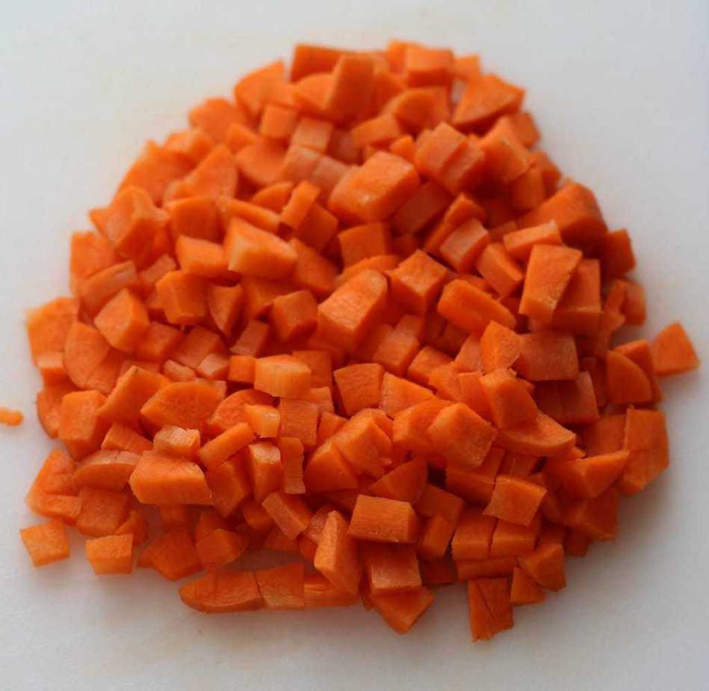 This is what they look like when you have finished chopping!