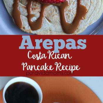 Costa Rican Pancakes Recipe (Arepas)