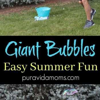 Homemade Giant Bubble Tutorial
