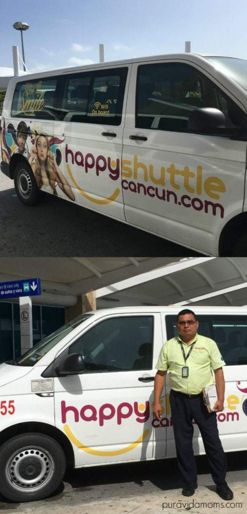 driver for happy shuttle cancun