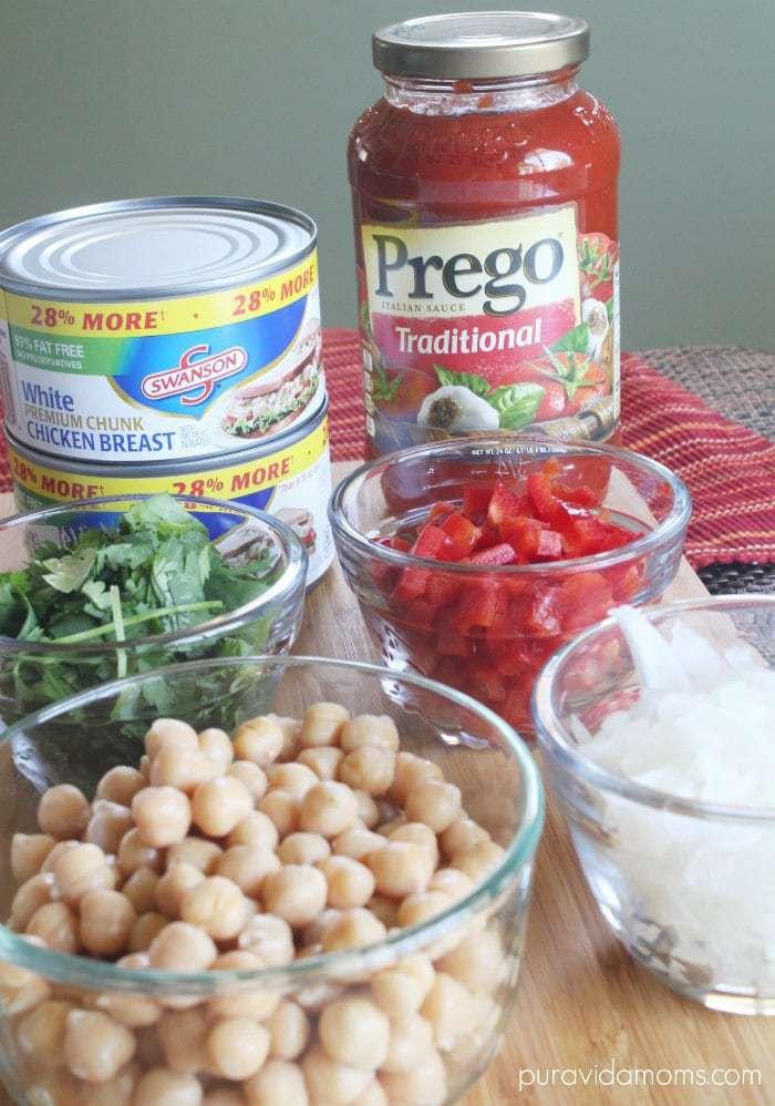 Slow Cooker Chicken Garbanzo Soup Recipe - Pura Vida Moms