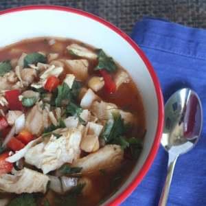Slow Cooker Chicken Garbanzo Soup Recipe