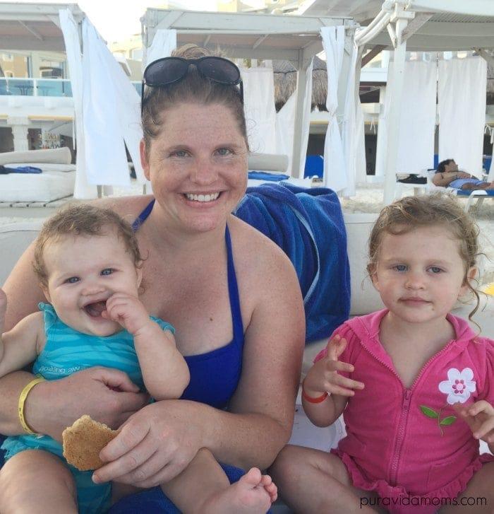 cabanas at hotel gran caribe real cancun mexico pura vida moms