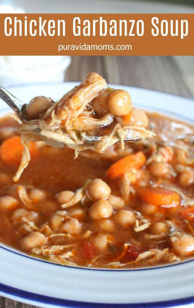 chicken garbanzo soup