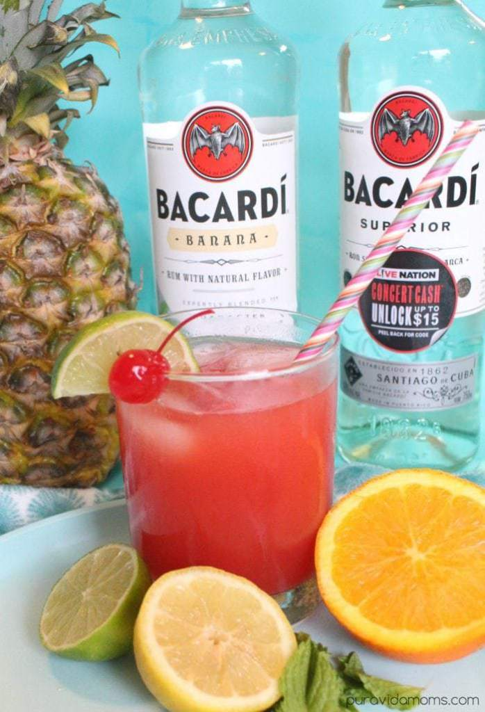 recipe for tropical rum punch