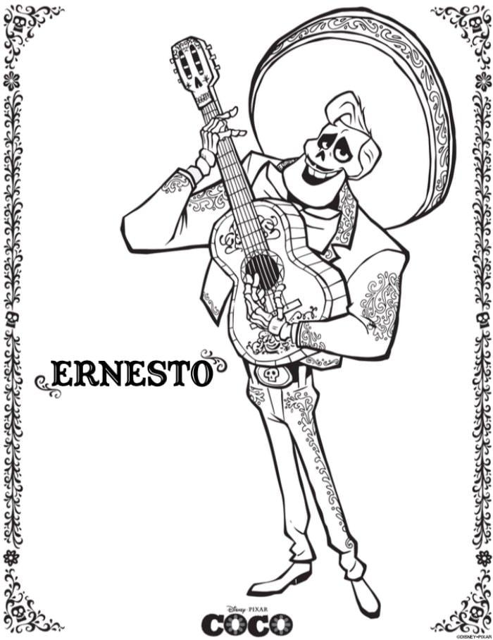 Ernesto- Disney Pixar's Coco