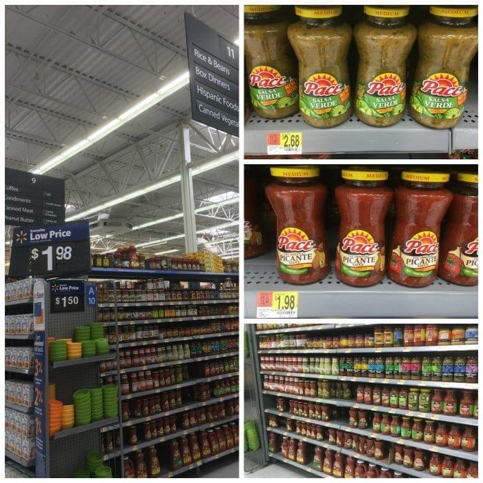 Pace Salsas at Walmart