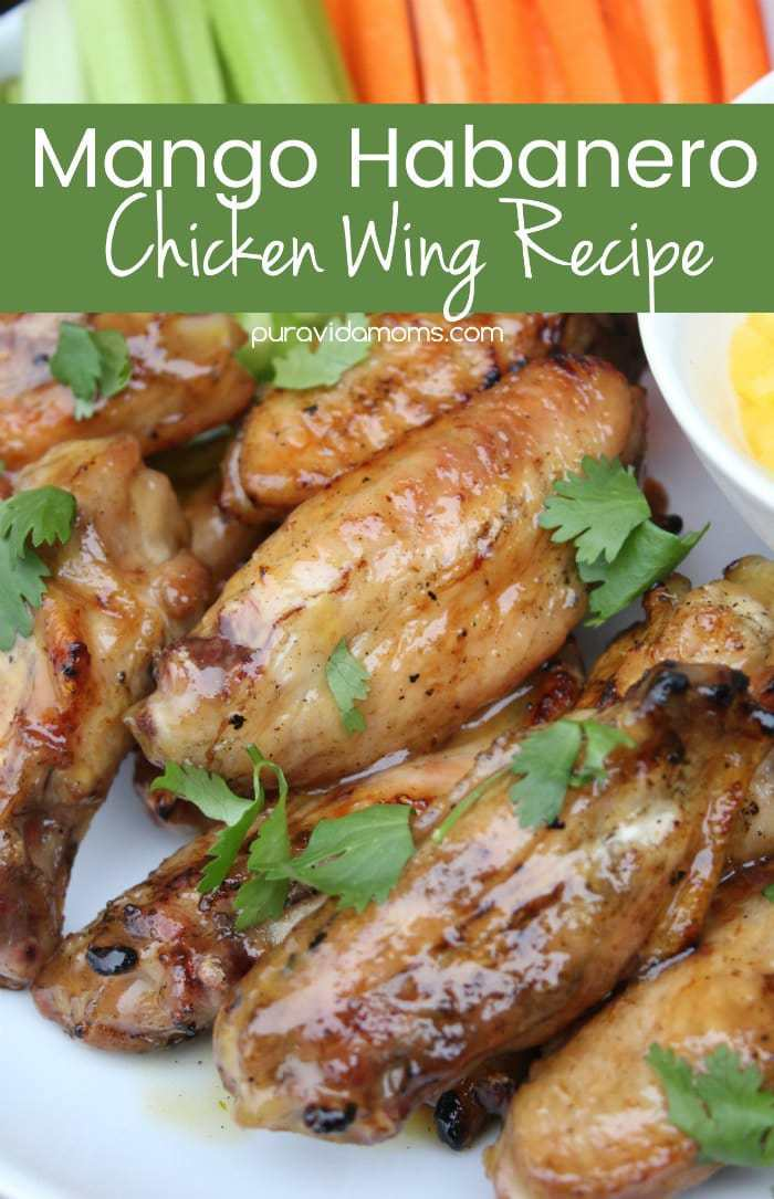 mango habanero chicken wings recipe