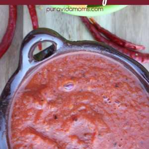 Chile del Arbol Salsa Recipe