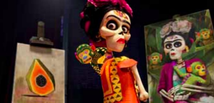 Disney Pixar's Coco Frida Kahlo Skeleton