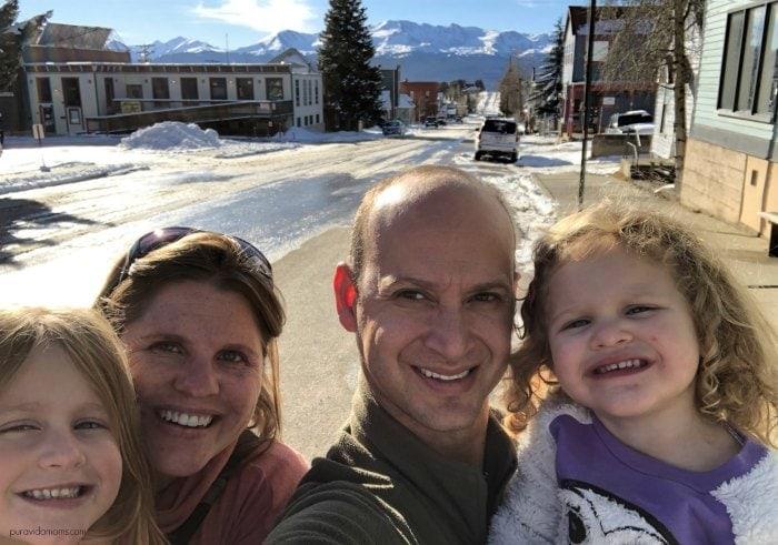 Leadville Colorado Family Photo
