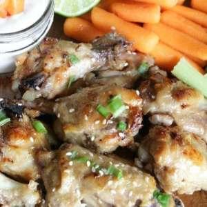 Spicy Sweet Slow Cooker Habañero Wings Recipe