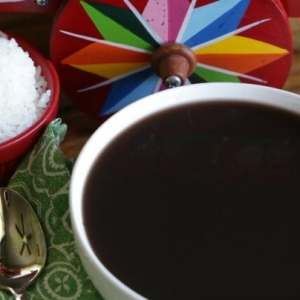 Traditional Costa Rican Black Bean Soup Recipe