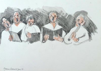 Event Rehearsal Sketching 2018 - 12