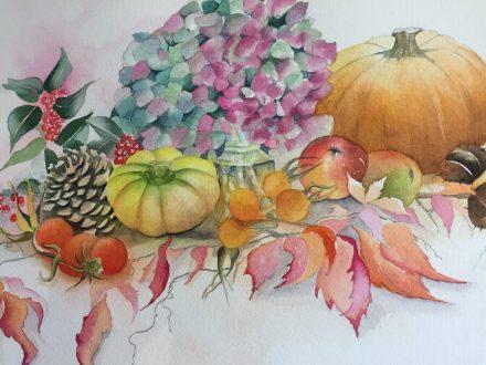 Linda Wallis - Autumn Still Life