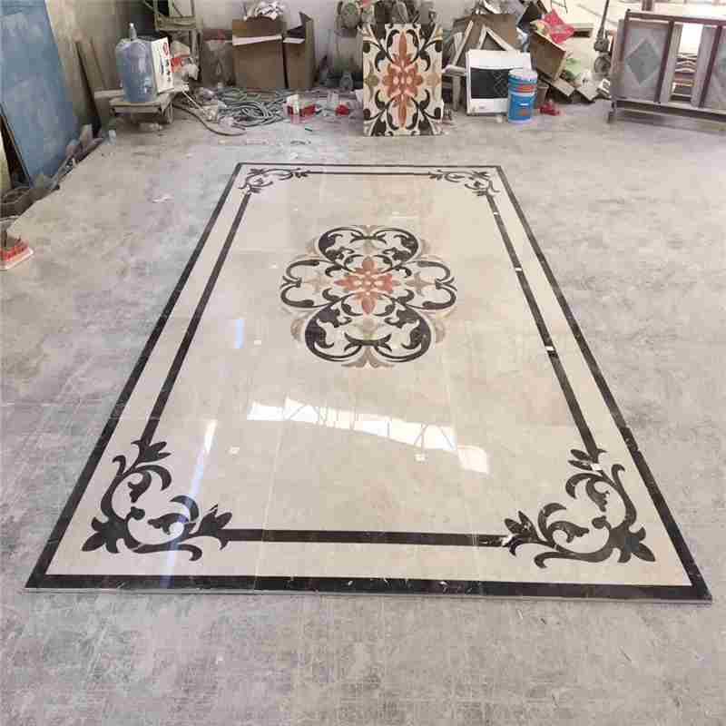 medallion floor tile designs home depot