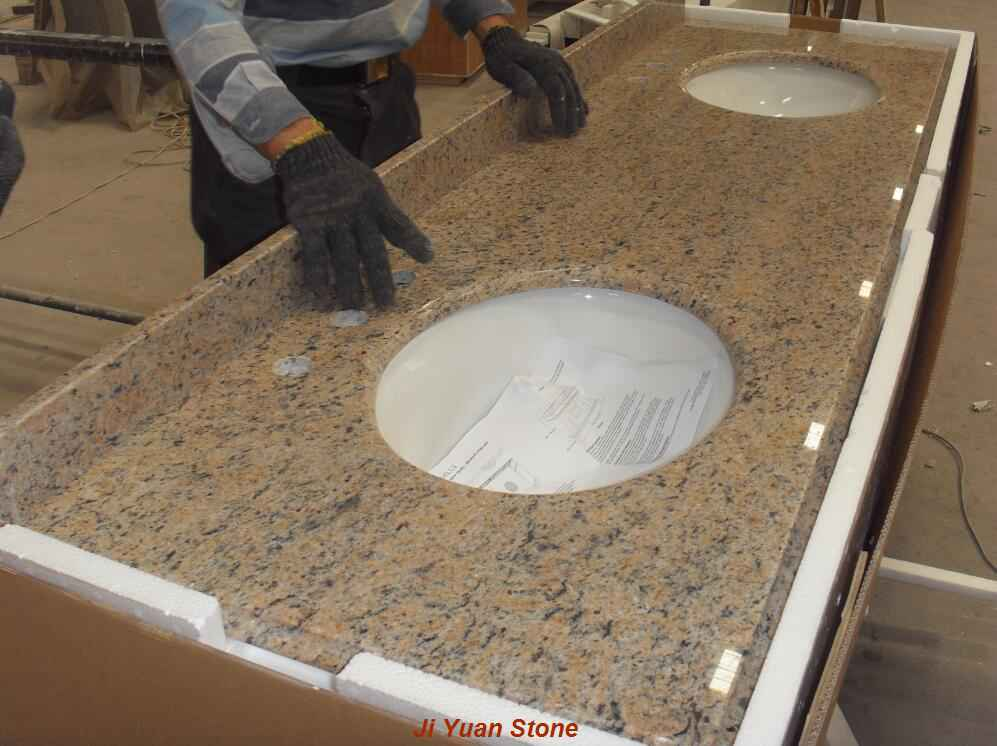 quartz countertop 61 inch vanity top