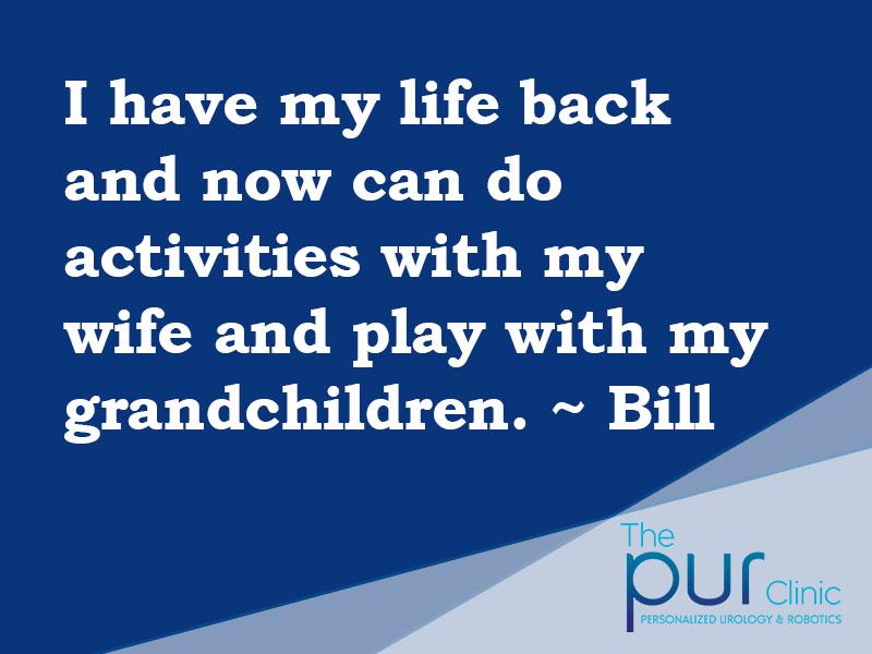 Bill Testimonial