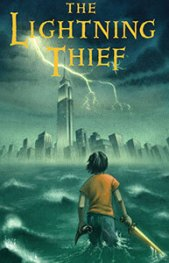 Image result for the lightning thief book cover