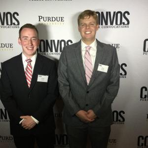 President and Vice President of Convocations Volunteer Network: Evan Bishop and Trey Templin