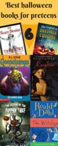 halloween books infographic