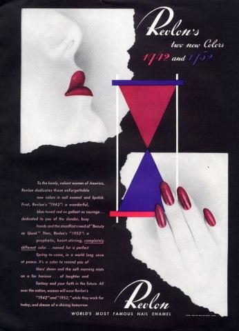 revlon publicité 1942