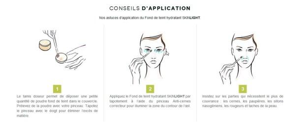 application correction