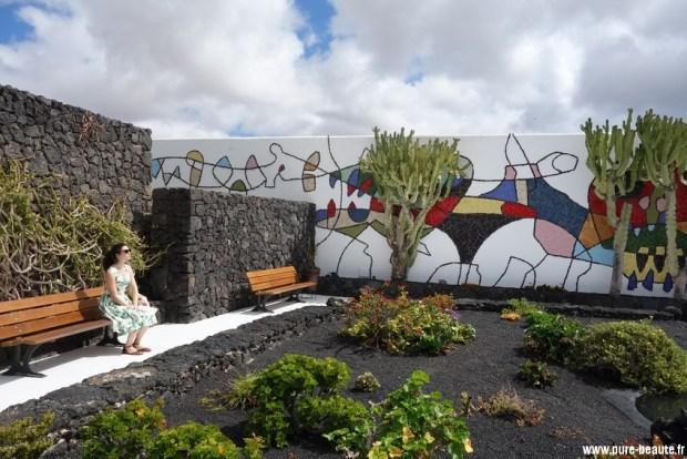 Dans le jardin de Cesar Manrique