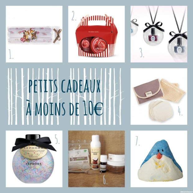 shopping beauté noel 2015