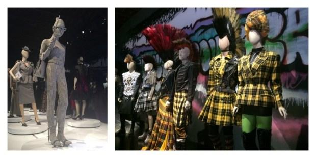 "expo Gaultier ""punk-cancan"""