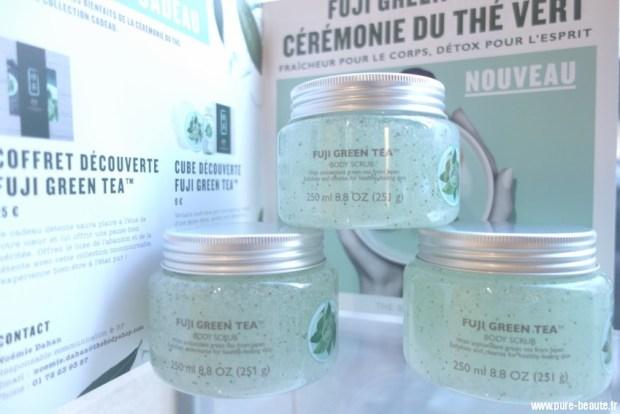 exfoliant fuji green tea the body shop