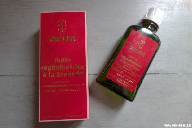 weleda huile regeneratrice grenade