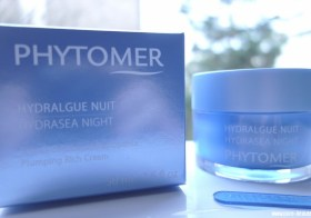 Ma routine Phytomer avec Pionnière XMF et Hydralgue nuit