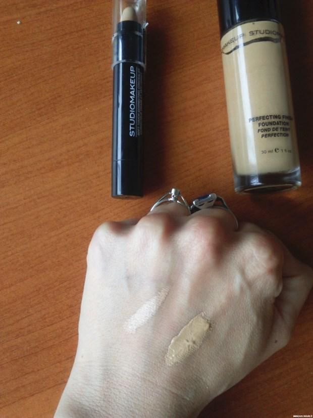 Studio makeup fond de teint et correcteur