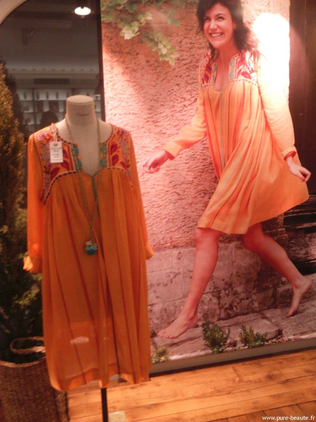 Fragonard - Robe orange