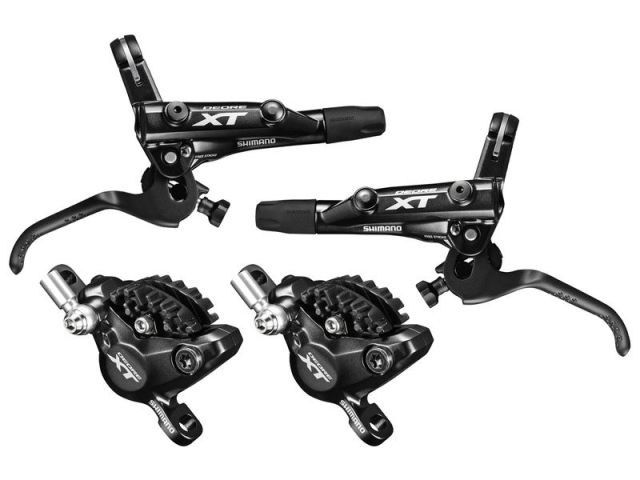 Shimano XT M8000 disc brake set without rotor and adapter ...