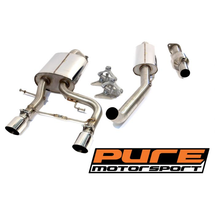 182 racing exhaust system