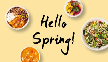 Introducing our new Spring Menu!