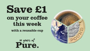 Save £1 on your coffee this week