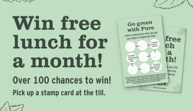 Win free lunch for a month!