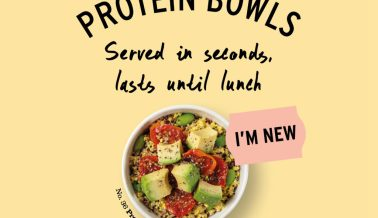 Introducing the Protein Bowl!