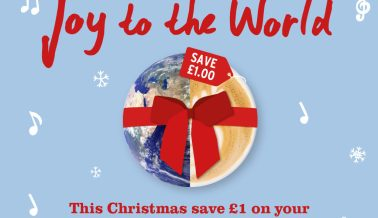 Save £1 with a reusable cup this Christmas