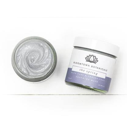 Bloomtown Blue Clay Face Mask with Soothing Bentonite & Indigo Leaf