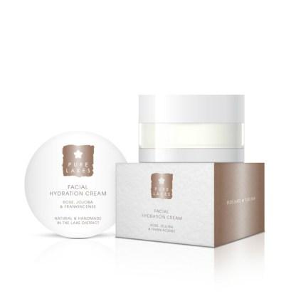 Pure Lakes Rose, Jojoba & Frankincense Facial Hydration Cream