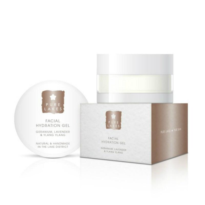 Pure Lakes Geranium, Lavender & Ylang Ylang Facial Hydration Gel